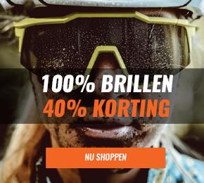 100% fietsbrillen